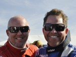 Paul Tracy and Michael Shank on the grid at the Rolex 24 - Anne Proffit photo