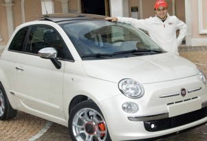 Perks of the job: Ferrari F1 driver gets custom Fiat 500