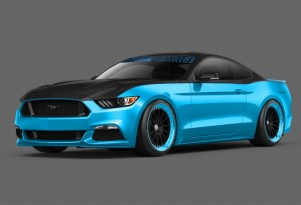 Petty's Garage 2015 Ford Mustang 2014 SEMA show car
