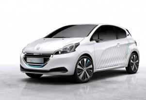 Peugeot 208 Hybrid Air concept