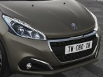 2015 Peugeot 208 with textured paint finish