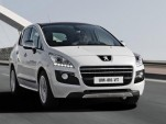 Peugeot 3008 HYbrid4 diesel-electric hybrid