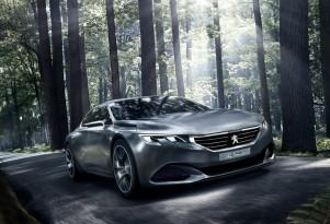 Peugeot Exalt concept, 2014 Paris Auto Show