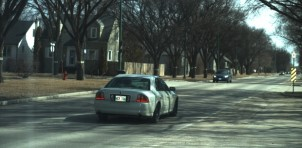 Photo ticket captured driver Danial Mercer speeding just past a school zone