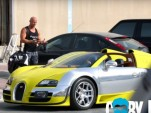 Picking up Uber riders in a Bugatti Veyron