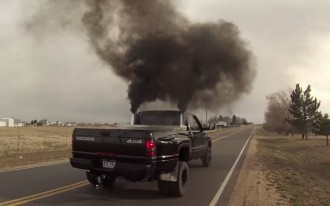 """Smoke and you're a bandit: Colorado moves to ban """"rolling coal"""""""