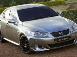Pimped out chrome Lexus IS250 at Aussie Motor Show