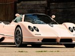 Pink Pagani Zonda C12 Roadster