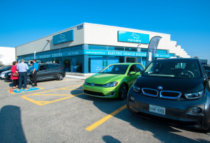 Electric-car discovery, education centers are now a thing