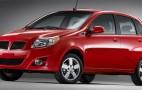 Pontiac confirms G3 compact for U.S. market