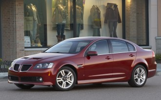 2008-2009 Pontiac G8: Recall Alert