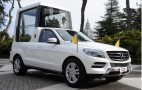 Popemobile Mercedes-Benz M Class Delivered To Benedict XVI