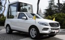 Pope Francis handed the keys to the Popemobile by Daimler CEO Dr. Dieter Zetsche