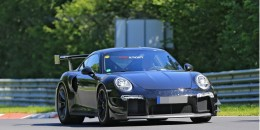 2018 Porsche 911 GT2 spuy shots - Image via S. Baldauf/SB-Median