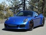 2017 Porsche 911 Targa 4 GTS, Lake Tahoe