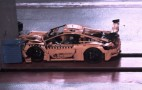 The beauty and horror of a Lego Porsche 911 GT3 RS crash test