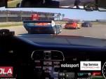 Porsche 911 GT3 Cup chases 962C at NOLA Motorsports Park