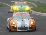 Porsche 911 GT3 R Hybrid in action