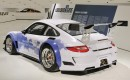 Porsche 911 GT3 R Hybrid signed by Facebook fans