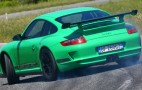Porsche 911 GT3 RS voted evo COTY 2007