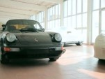 Porsche 911 secret mid-engine prototype screencap