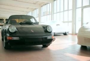 Porsche 911 secret mid-engine prototype screencap