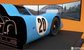 Porsche 917 simulator rig
