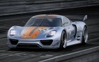 2011 Detroit Auto Show: Porsche 918 RSR