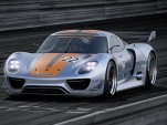 Porsche 918 RSR race car