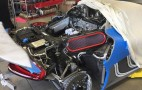 Porsche 918 Spyder service looks like a technician's worst nightmare