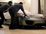 Porsche 918 Spyder production reveal (video screen capture)