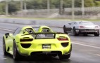 Rimac Concept_One takes on Porsche 918 Spyder at the drag strip