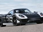 2014 Porsche 918 Spyder prototype