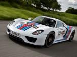 2014 Porsche 918 Spyder Tackles Nurbürgring, Announces Martini Sponsorship