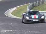 Porsche 918 Spyder back at the Nürburgring