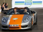 Porsche Boxster E Electric Sports Car A Hit At 2011 Michelin Challenge Bibendum