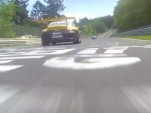 Porsche Carrera Cup cars race at the 'Ring