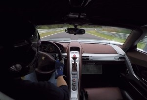 Porsche Carrera GT driven at the 'Ring