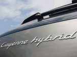 Porsche Cayenne Hybrid logo