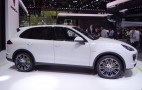2015 Porsche Cayenne Gets Plug-In Hybrid, New Twin-Turbo V-6, More: Live Photos