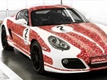 Porsche Cayman S celebrates 2 million Porsche Facebook fans