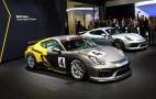 2016 Porsche Cayman GT4 Clubsport Races Into L.A. Auto Show