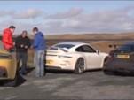 Porsche, Mercedes and Aston Martin comparo