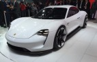 Porsche Mission E electric sedan concept: 310-mile range, 15-minute charging--Live photos & video