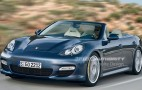 Rendered: 2011 Porsche Panamera Cabrio