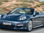 Porsche Panamera Convertible preview rendering