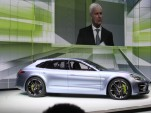 Porsche Panamera Sport Turismo Concept live photos, 2012 Paris Auto Show
