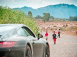 Porsche prototype testing, from the Porsche Facebook page