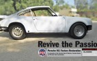 Porsche Restoring Classic 911T For Fan Giveaway