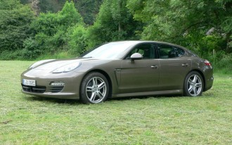 NYC Hotel Picks up Guests in a Porsche Panamera